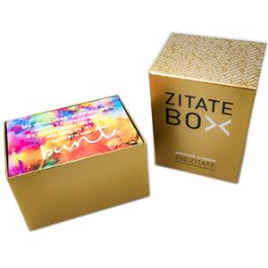 Goldene-Zitate-Box